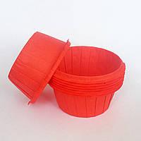 Капсула плотная для кексов(красная) №69 (25 шт.)