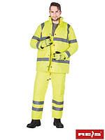 Зимний комплект (костюм утепленный сигнальный) U-VIS Y