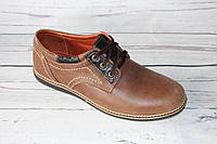 Мужские туфли в стиле комфорт, олива