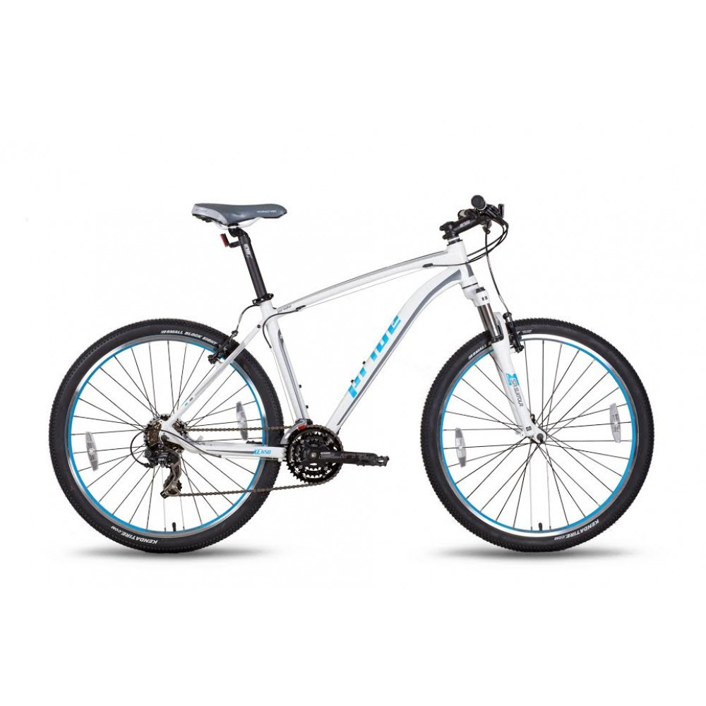 "Велосипед 27,5"" Pride XC-650 V рама - 19"" бело-синий матовый 2016"
