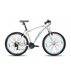 "Велосипед 27,5"" Pride XC-650 V рама - 21"" бело-синий матовый 2016"