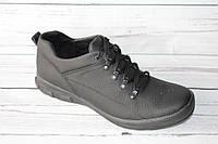 Спортивные мужские туфли, натуральная кожа