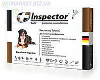 Инспектор Тотал С (Inspector Total С) для собак 40-60 кг, капли от внешних и внутренних паразитов, 1
