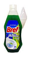 Освежитель для туалета Bref гель Сосновый Бор с гранулами свежести - 360 мл.