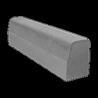 Бордюр магистральный, размер 1000х180х300, цвет Серый