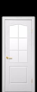 Дверь межкомнатная КЛАССИК СО СТЕКЛОМ САТИН