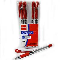 Ручка Maxriter оригинал масляная красная набор