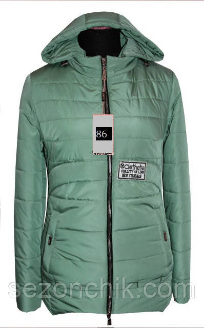 Женская куртка демисезонная