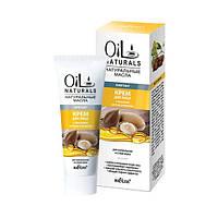 Крем для лица с маслами арганы и жожоба Лифтинг для нормальной и сухой кожи, 50 мл, Oil Naturals