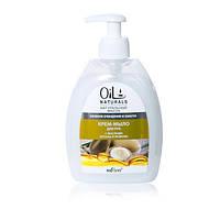 Крем-мыло для рук с маслами арганы и жожоба Нежное очищение и Забота, Oil Naturals Bielita