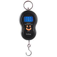 Весы ручные электронные 603L, максимум 50 кг, погрешность 10 г, LCD-табло с подсветкой, выбор меры веса