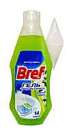 Освежитель для туалета Bref гель Зеленое Яблоко с гранулами свежести - 360 мл.