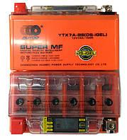Аккумулятор 12V 7А  OUTDO YTX7A-BS(DS-iGEL)