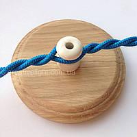 Синий провод 2х0,75 для наружной проводки