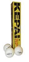 Шарики для настольного тенниса (6шт) KEPAI  2star