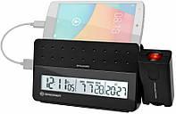 Проекционные часы Bresser MyTime Pro black 922429