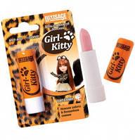 Бальзам для губ детский Girl-Kitty, 3,9 г, Люкс Визаж