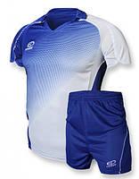 Футбольная форма игровая Europaw 007 (синий\белый)
