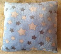 Подушка антистрессовая «Звездная ночь» 33x33см (теплый флис)
