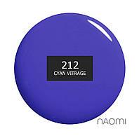 Гель лак Naomi Vitrage №212 6 мл