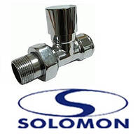 Кран радиаторный SOLOMON верх 1/2  прямой