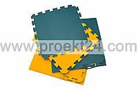 Спортивное напольное покрытие ласточкин хвост 20×500×500мм