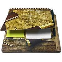 Блокнот-планшет NotePad со стикерами Post-it «Капитан»