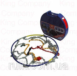 Автомобильные цепи противоскольжения для легковых автомобилей KN 100 на колеса r14, r15, r16, r17