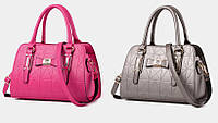 Каркасные деловые сумки с узором в стиле Chanel. Компактные и вместительные. Отличное качество.  Код: КГ463