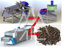 Оборудование для переработки сапропеля