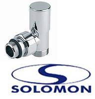 Кран радиаторный SOLOMON верх 1/2 угловой