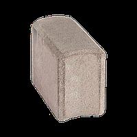 Поребрик стреловидный, размер 270х120х200, цвет Белый
