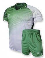Футбольная форма игровая Europaw 007 (зеленый\белый)