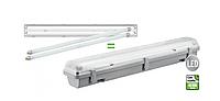 Светодиодный LED светильник DSP-01 36W 1200mm 4000К 3000Lm IP65 герметичный (замена ЛСП / ЛПП 2х36вт), фото 1