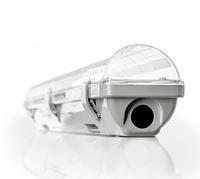 Светодиодный LED светильник 18W IP65 6400К (1*1200мм) промышленный герметичный (с лампой)