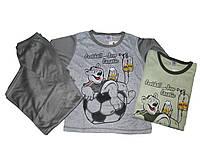 Пижама трикотажная для мальчиков, размеры 134.170 арт. 019