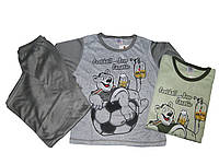Пижама трикотажная для мальчиков, размеры 134.арт. 019