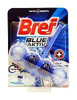 Чистящее средство для унитаза Bref Blue-Aktiv Синяя вода с Хлор-компонентом - 50 г.