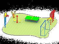 Спортивные площадки для дачи