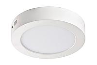 """Светодиодный LED светильник 6W """"круг"""" 6400К d=120мм 420Lm накладной Евросвет"""