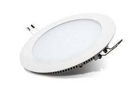"""Светодиодная LED панель 12 Вт """"Круг"""" 6400К d=170mm 840 Lm Евросвет"""