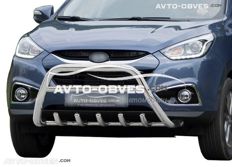 Передняя защита для Hyundai ix35