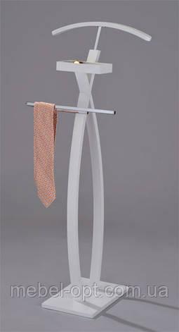 Вешалка тремпель для одежды деревянная W-53, фото 2