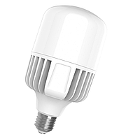 Лампа светодиодная LED 70W E40 6500K 7300 Lm EUROLAMP мощная промышленная (LED-HP-70406)