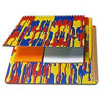 Блокнот-планшет NotePad со стикерами Post-it «Краски»