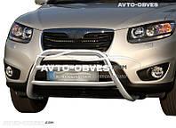 Защитный обвес переднего бампера Hyundai Santa Fe