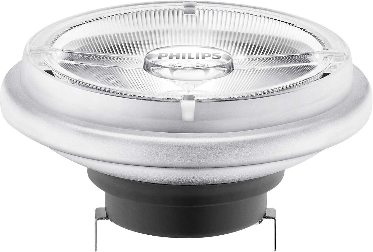 Лампа светодиодная LEDspotLV 20-100W 830 AR111 40D G53 PHILIPS диммируемая