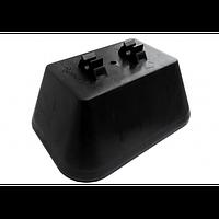 Держатель пластиковый для плоской крыши (с крышкой) 2PL (02020)