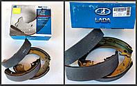 Колодки тормозные ВАЗ 2108 заднего безасб. (кт 4 шт.) (пр-во ВИС), 21080-350209001