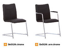 Стул DE SILVA /De SILVA arm chrome